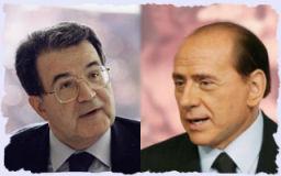Prodi e Berlusconi